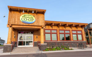 Cook County Whole Foods Coop building.
